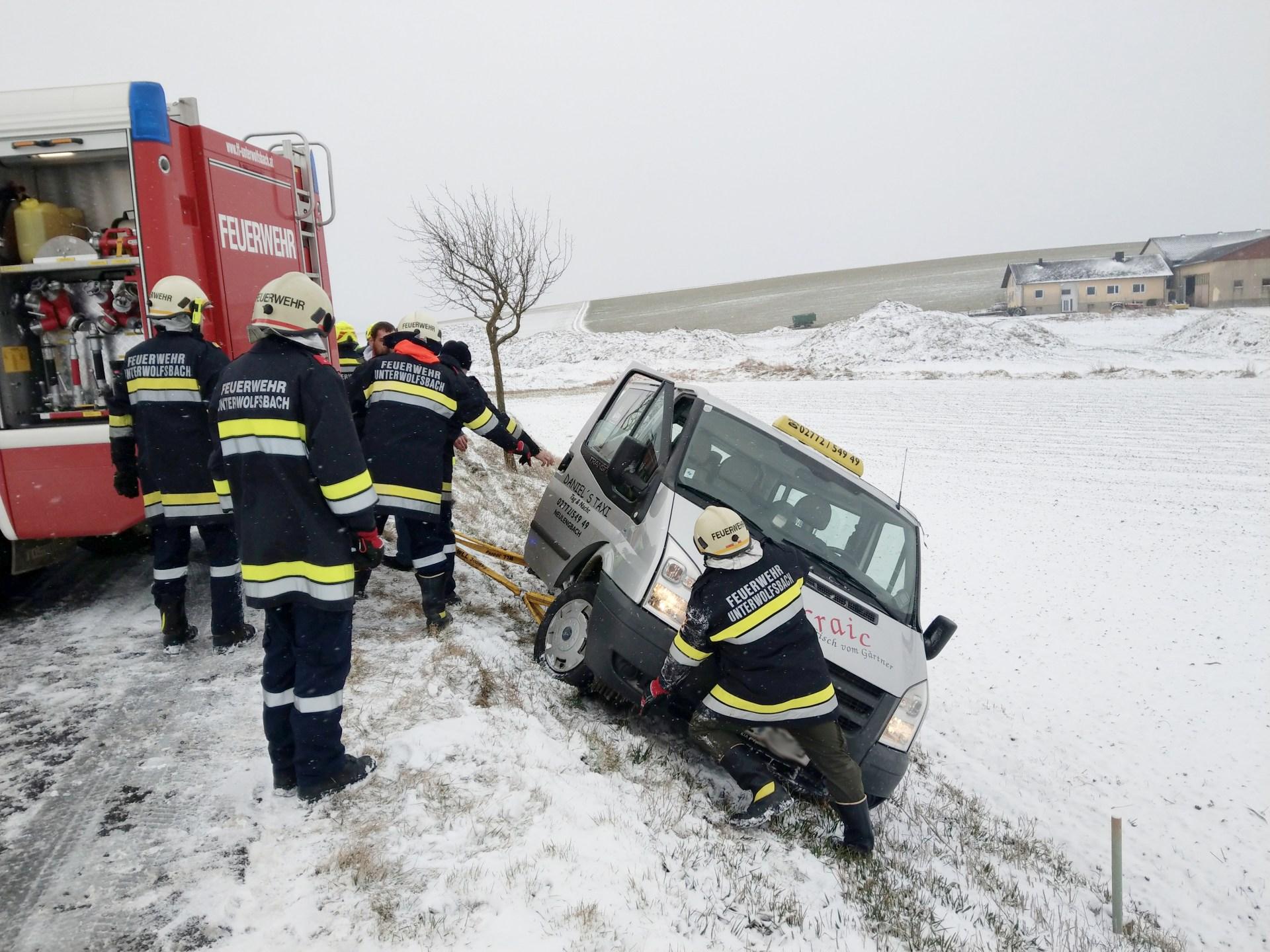 Fahrzeugbergung am Saugraben (T1)
