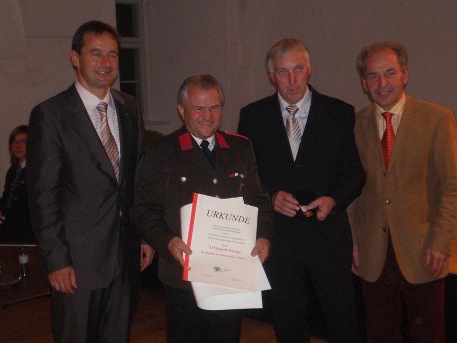 Auszeichnungen für Leopold Feyertag, Josef Rath und Josef Hössinger