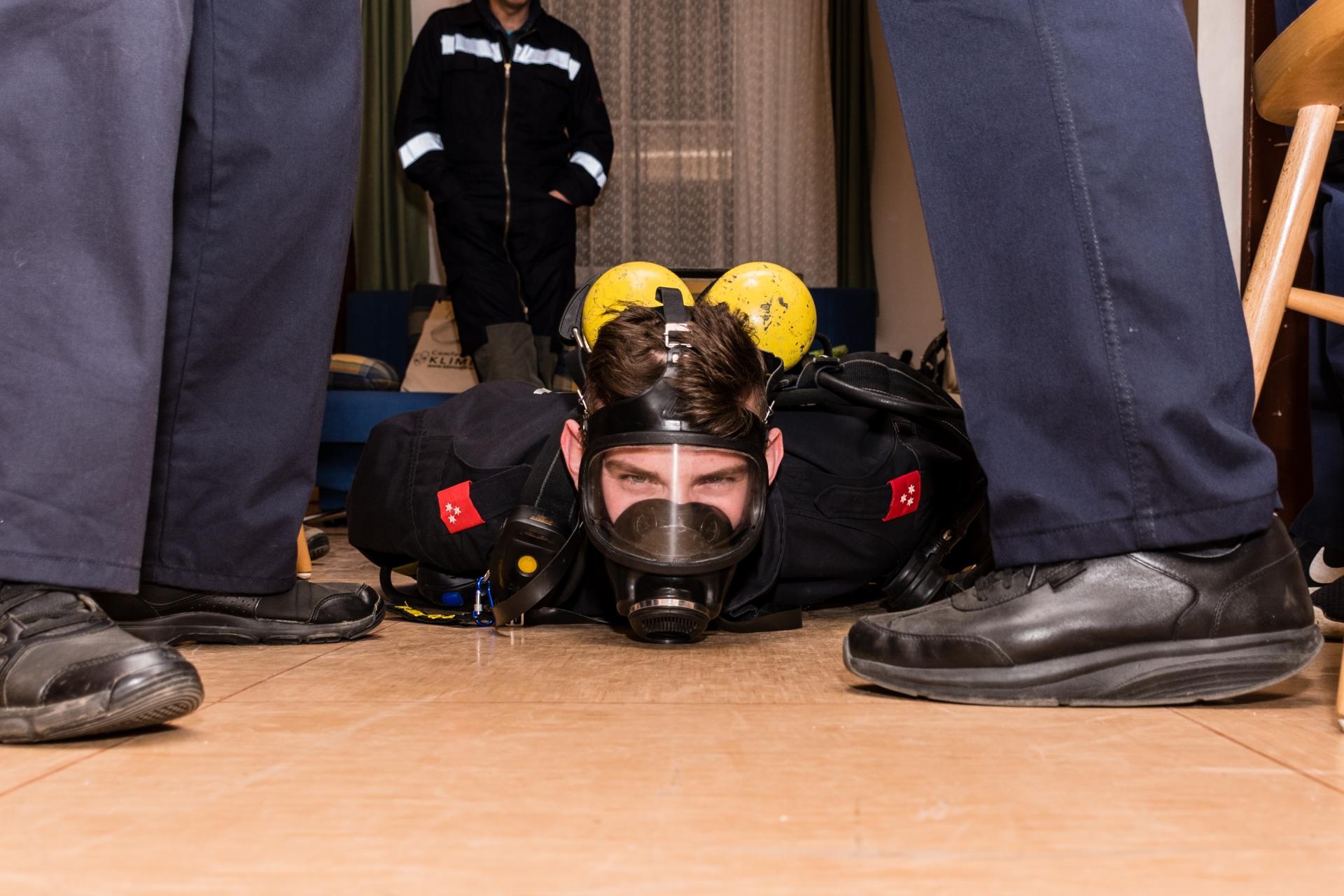 Erste Hilfe im Brandeinsatz