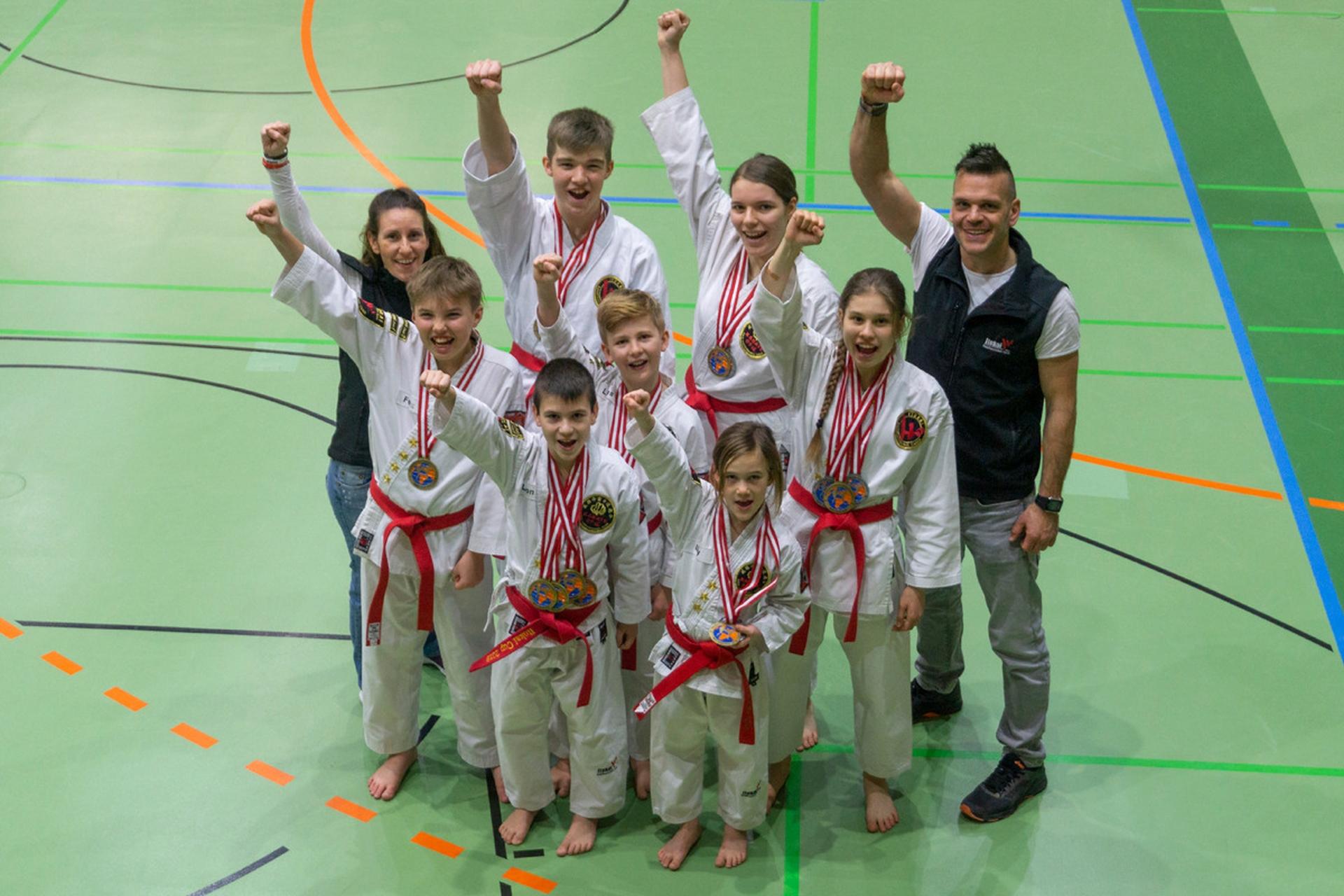 Wir sind Karate-Staatsmeister